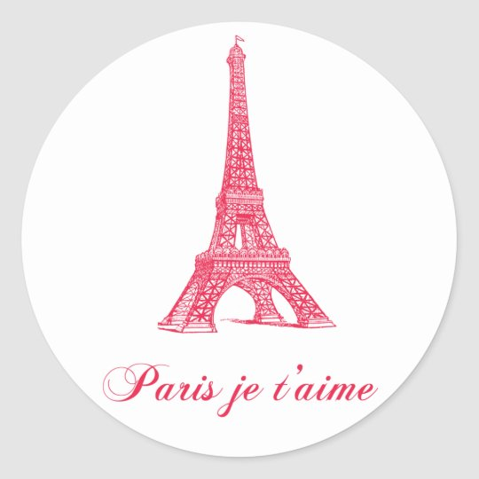 Etiquetas de Paris Adesivo