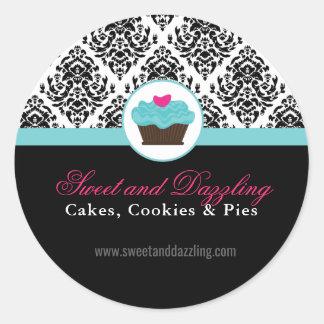 Etiquetas decorativas da padaria