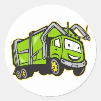 Etiquetas do caminhão dos desperdícios adesivo