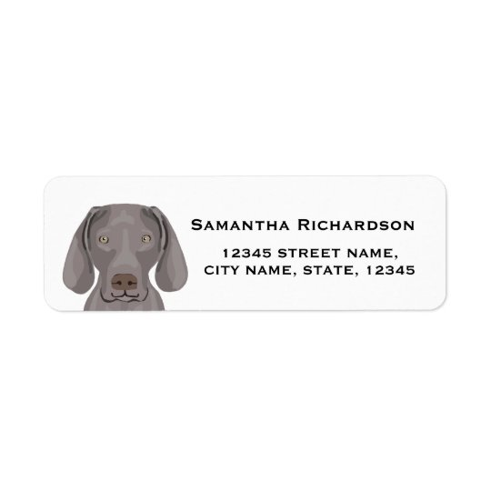 etiquetas do cão da etiqueta de endereço do