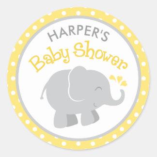 Adesivos para chá de bebê para personalizar. Escolha um tema e modelo e escreva a sua frase