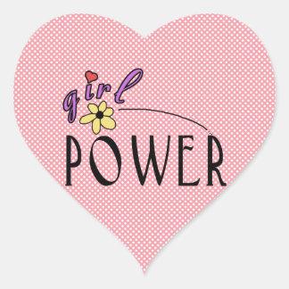 Etiquetas do coração do divertimento da flor do adesivo coração