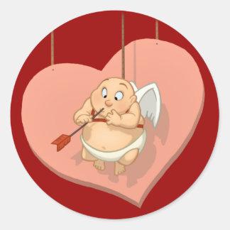 Etiquetas do Cupido Adesivo