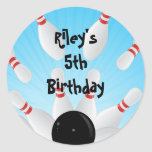 Etiquetas do favor de festa de aniversário da adesivos redondos