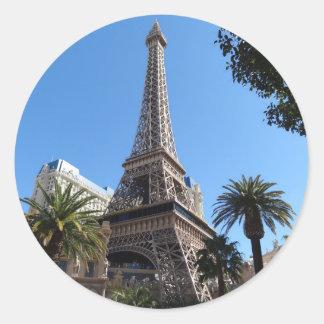Etiquetas do hotel & do casino de Paris Las Vegas Adesivo