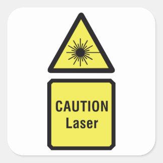 Etiquetas do laser do cuidado