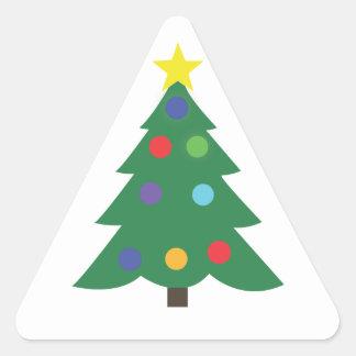 Etiquetas do Natal!! Adesivo Triangular