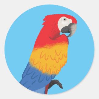 Etiquetas do papagaio