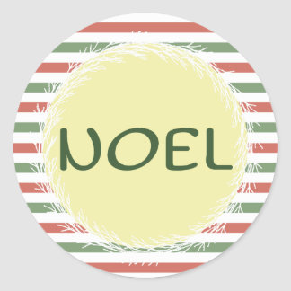 Etiquetas do presente do Natal de Noel Adesivo