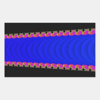 Etiquetas do retângulo com Fractal de Mandelbrot