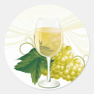 Etiquetas do vinho adesivo