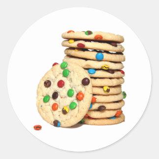 Etiquetas dos biscoitos