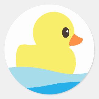 """Etiquetas """"Ducky"""" de borracha"""
