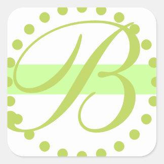 Etiquetas elegantes do casamento adesivo quadrado