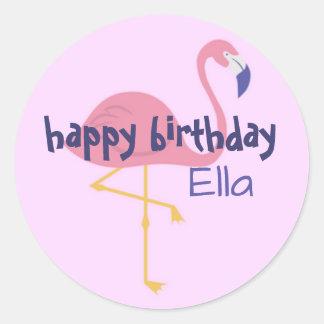 etiquetas personalizadas da festa de aniversário adesivo