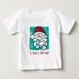 Eu acredito no TShirt do Natal do papai noel