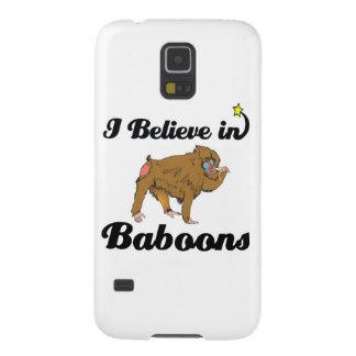 eu acredito nos babuínos capa para galaxy s5
