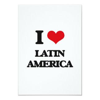 Eu amo a América Latina Convite Personalizados