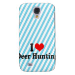 Eu amo a caça dos cervos
