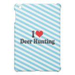 Eu amo a caça dos cervos capa iPad mini