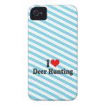 Eu amo a caça dos cervos capa para iPhone 4