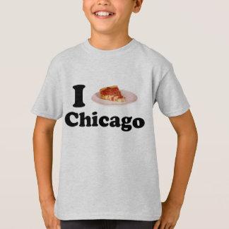 Eu amo a camisa de Chicago