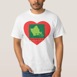 Eu amo a camisa de Havaí - baía de Hanauma Camiseta