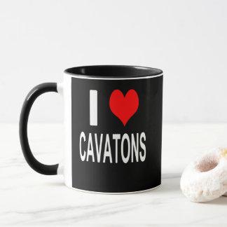 Eu amo a caneca de Cavatons, Cavaton
