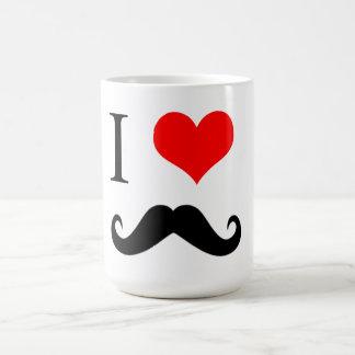 Eu amo a CANECA do bigode!