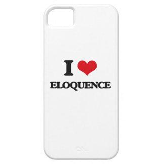 Eu amo a ELOQUÊNCIA iPhone 5 Capas