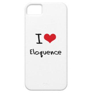 Eu amo a eloquência iPhone 5 capa