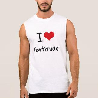 Eu amo a fortaleza camiseta sem manga