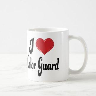 Eu amo a guarda de cor (do coração) caneca