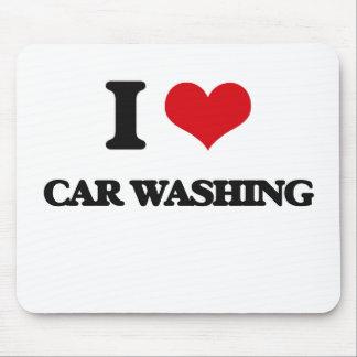Eu amo a lavagem do carro
