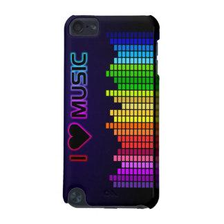 Eu amo a música com capa do ipod touch de Equilize Capa Para iPod Touch 5G