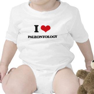 Eu amo a paleontologia macacões