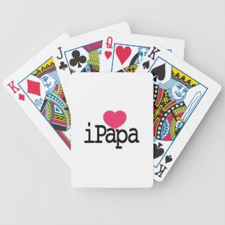 Eu amo a papá jogos de baralhos