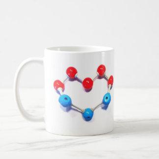 Eu amo a química caneca