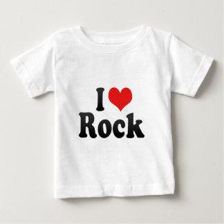 Eu amo a rocha t-shirt