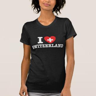 Eu amo a suiça tshirts