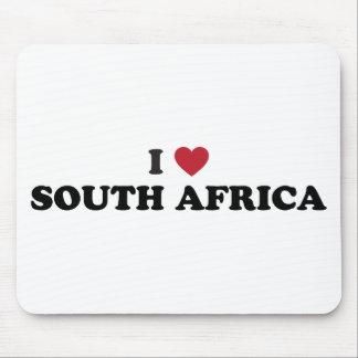 Eu amo África do Sul Mousepad