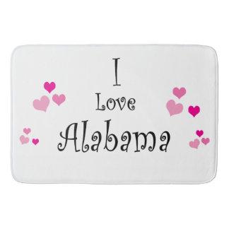 Eu amo Alabama Tapete De Banheiro