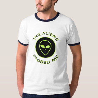 Eu amo aliens camisetas