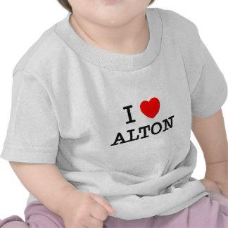 Eu amo Alton Tshirts