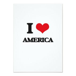 Eu amo América Convite Personalizados