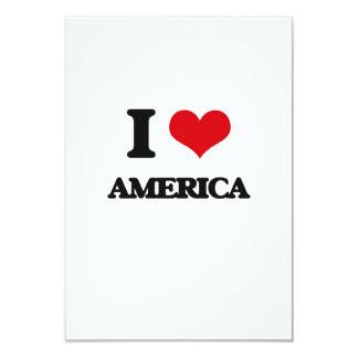 Eu amo América Convite Personalizado