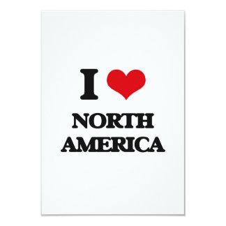 Eu amo America do Norte Convite Personalizados
