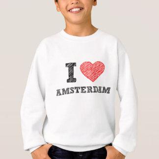Eu amo Amsterdão Tshirt