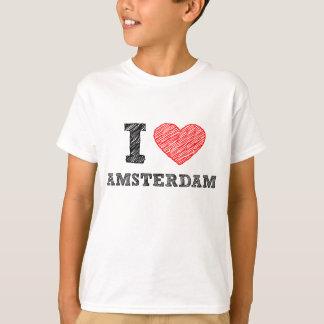 Eu amo Amsterdão Tshirts