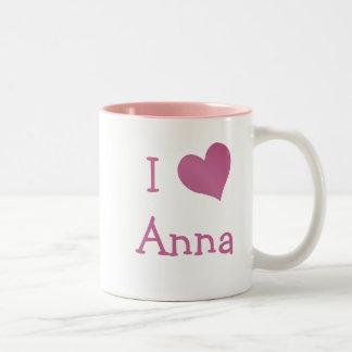 Eu amo Anna Caneca Dois Tons